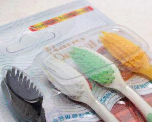 Зубные щетки антибактериальные с ионами