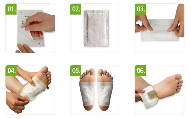 Пластырь для удаления токсинов инструкция по применению