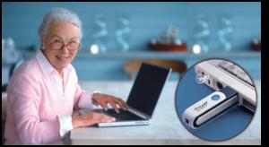 Портативный ионизатор воздуха для ноутбука
