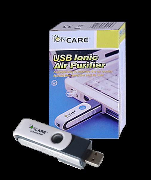 Портативный ионизатор воздуха IonCare, USB